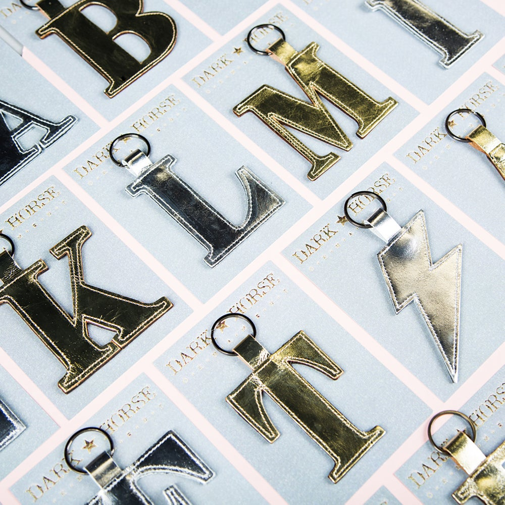 Image of CLASSIC alphabet letter keyfob