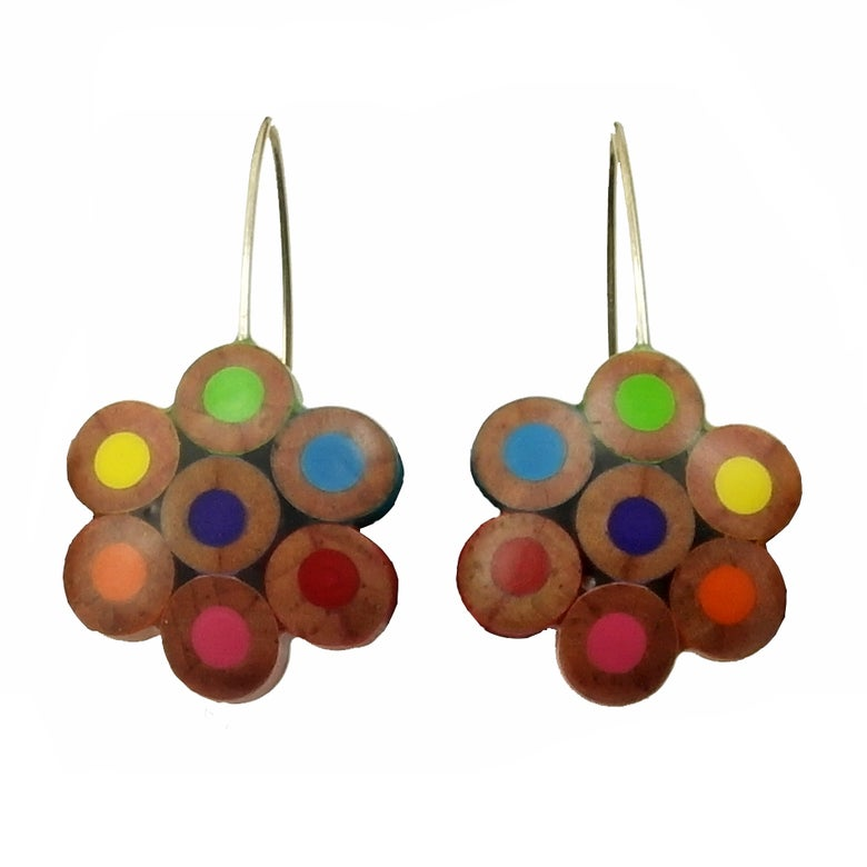 Image of flower earrings
