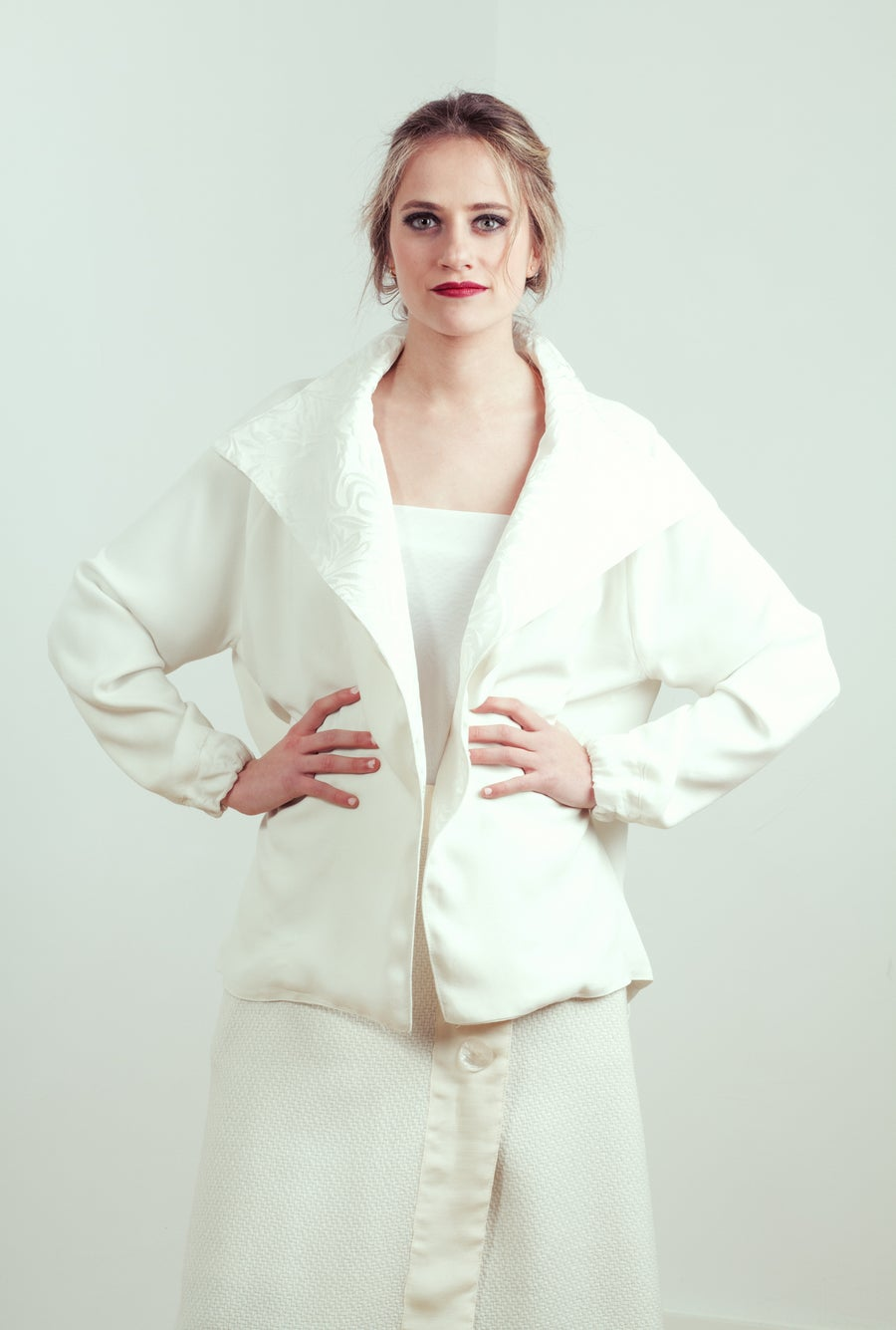 Image of Customized Bride Jacket