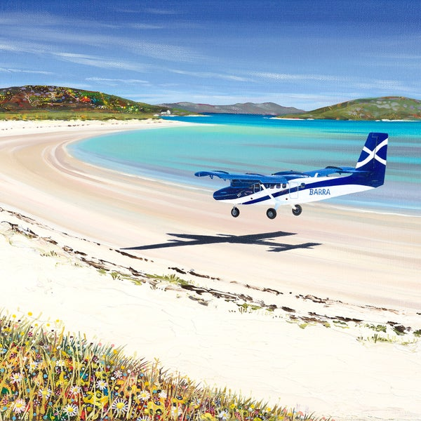 Image of Barra airport small print