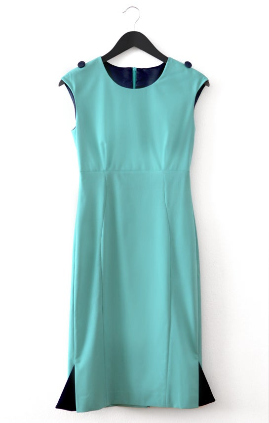 Image of Aqua blue DRESS