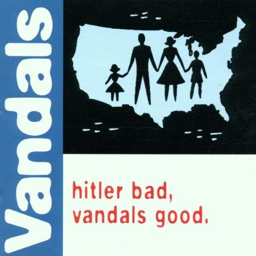 Image of The Vandals - Hitler Bad, Vandals Good - Green Vinyl , Promo'd & Sealed.
