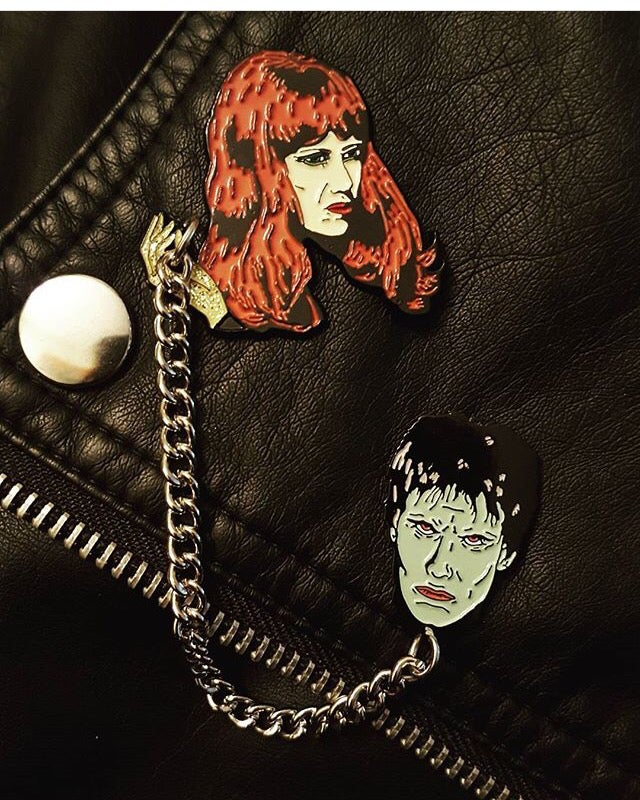 """Pin By M S On Carpet In 2019: The Cramps, """"I'm Cramped"""" - Lux & Ivy Pin Set"""