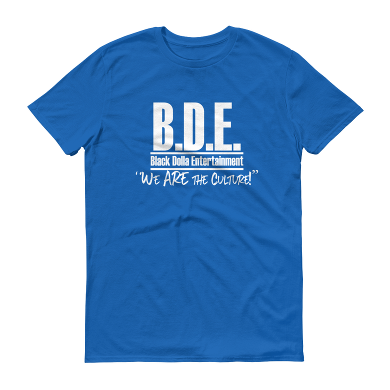 Image of ROYAL BLUE - B.D.E. We Are The Culture T-Shirt