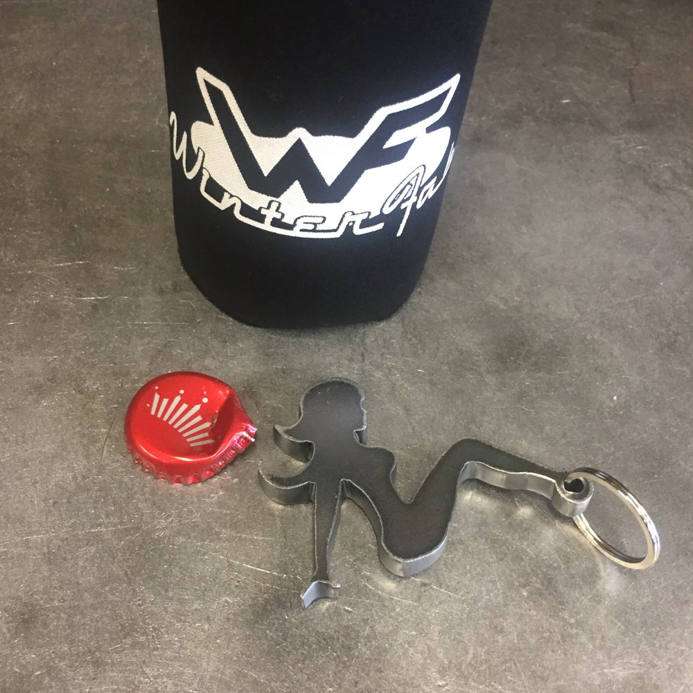 Image of Trucker Girl Bottle Opener