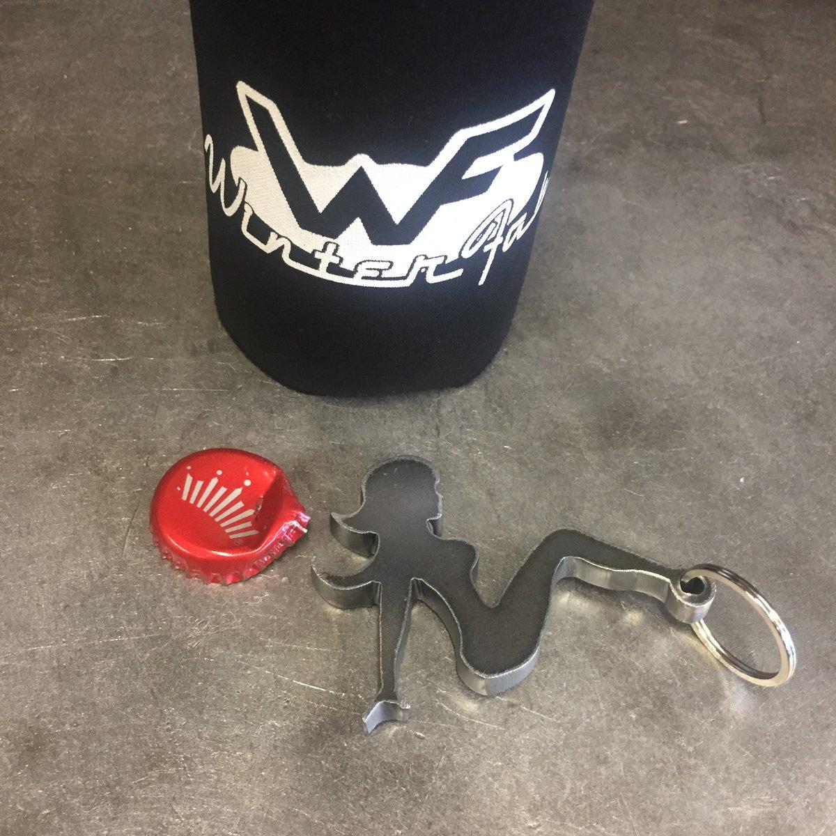 Image of Trucker Girl Bottle Opener