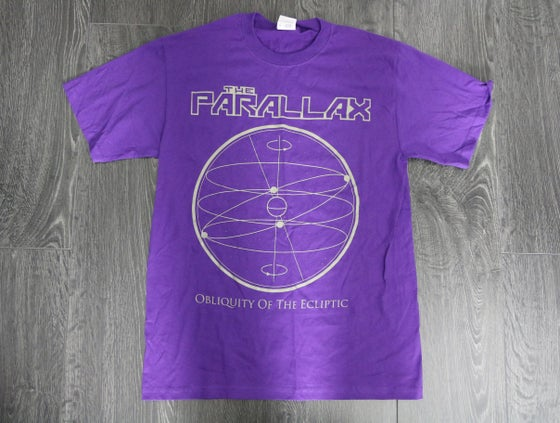 Image of 'Obliquity of the Ecliptic' Tee - Purple