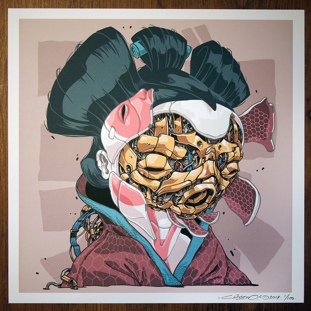 Image of MECHASOUL GEISHA