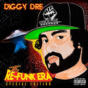 Image of Diggy Dre - The RE-Funk Era (CD)