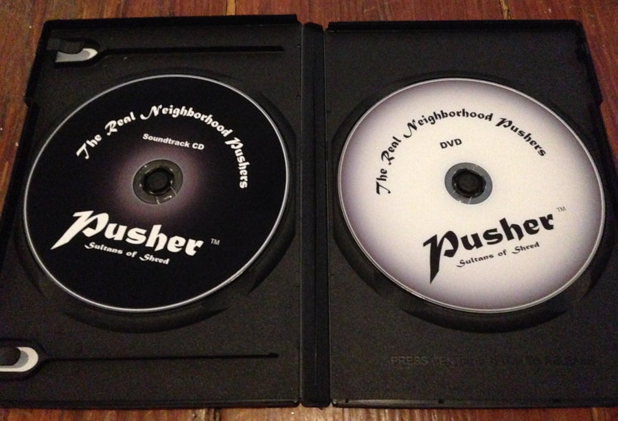 Image of The Real Neighborhood Pushers DVD