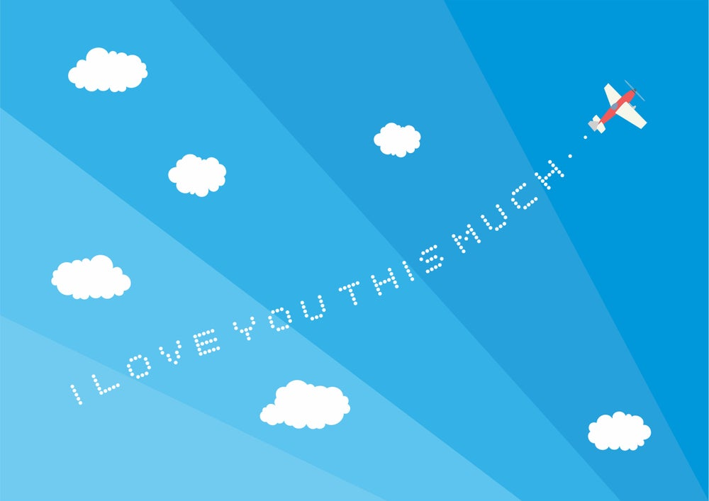 Image of I Love You THIS Much Giclee Print