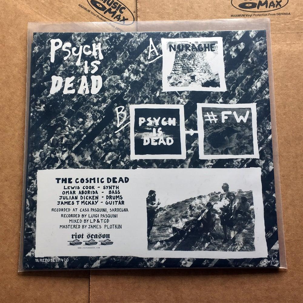 THE COSMIC DEAD 'Psych Is Dead' White Vinyl LP