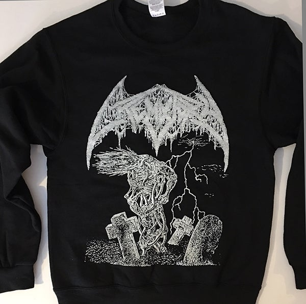 """Image of Crematory """" Wrath From The Unknown """" Sweatshirt"""