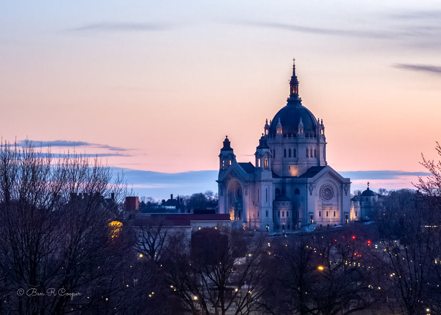 Cathedral of Saint Paul at Dusk
