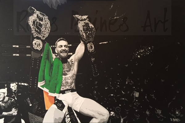 Image of 'DOUBLE CHAMP 2' (canvas print)