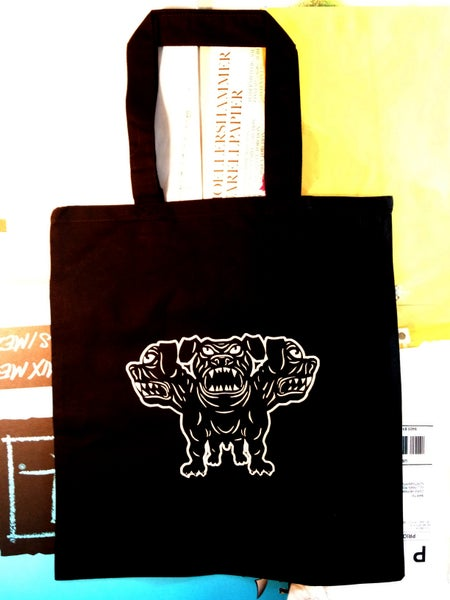 "Image of Tote Bag ""Cerberus"""