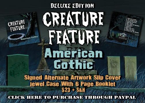 Image of American Gothic CD (Album #3)