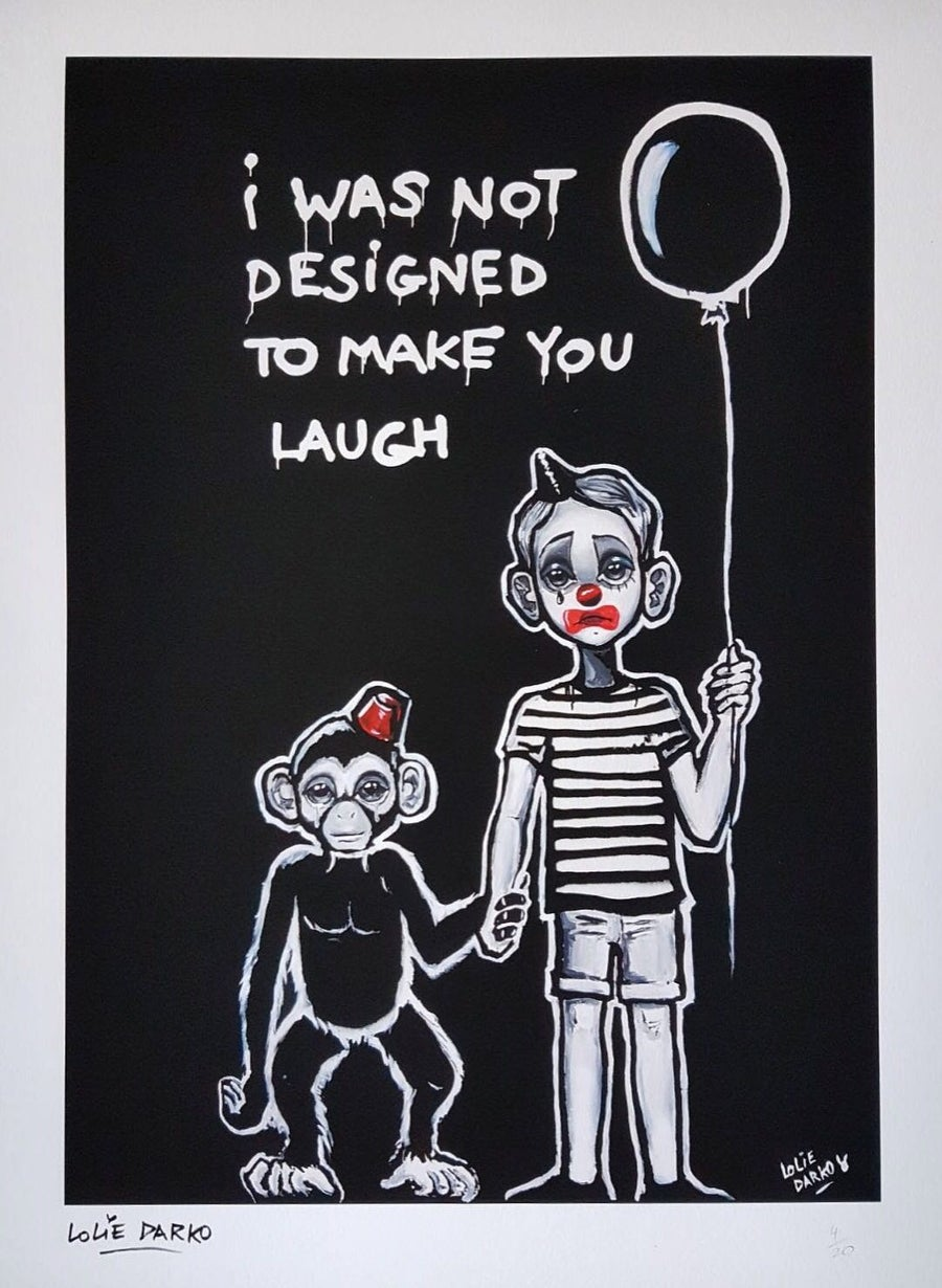 Image of 'I Was Not Designed To Make You Laugh' by Lolie Darko