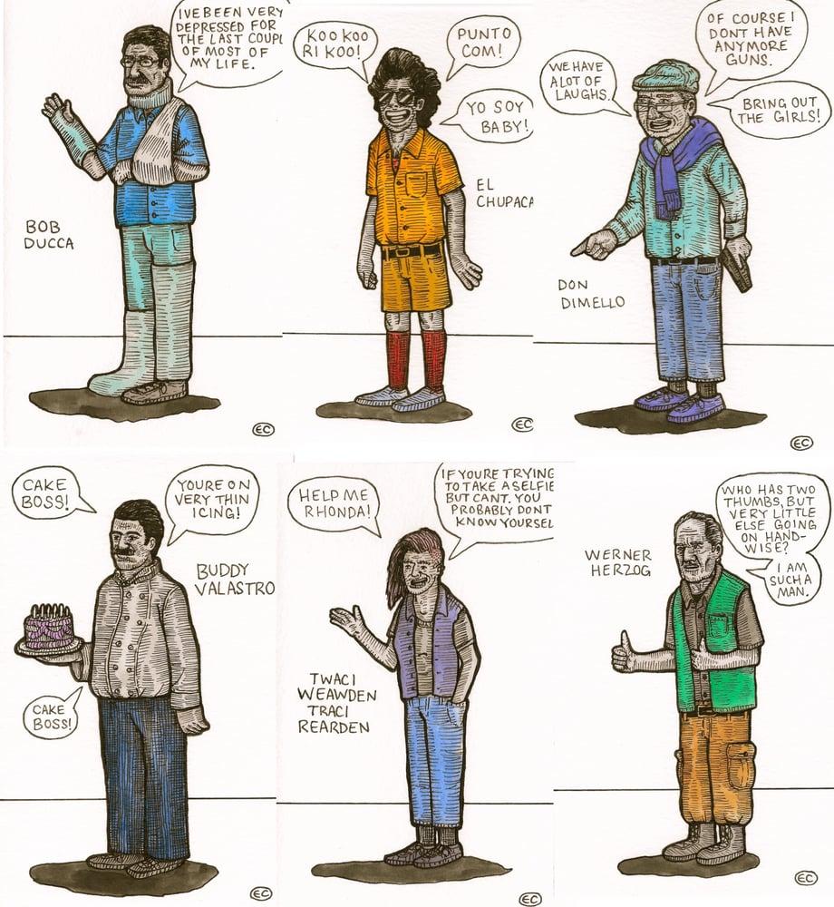 Image of CBB Characters!