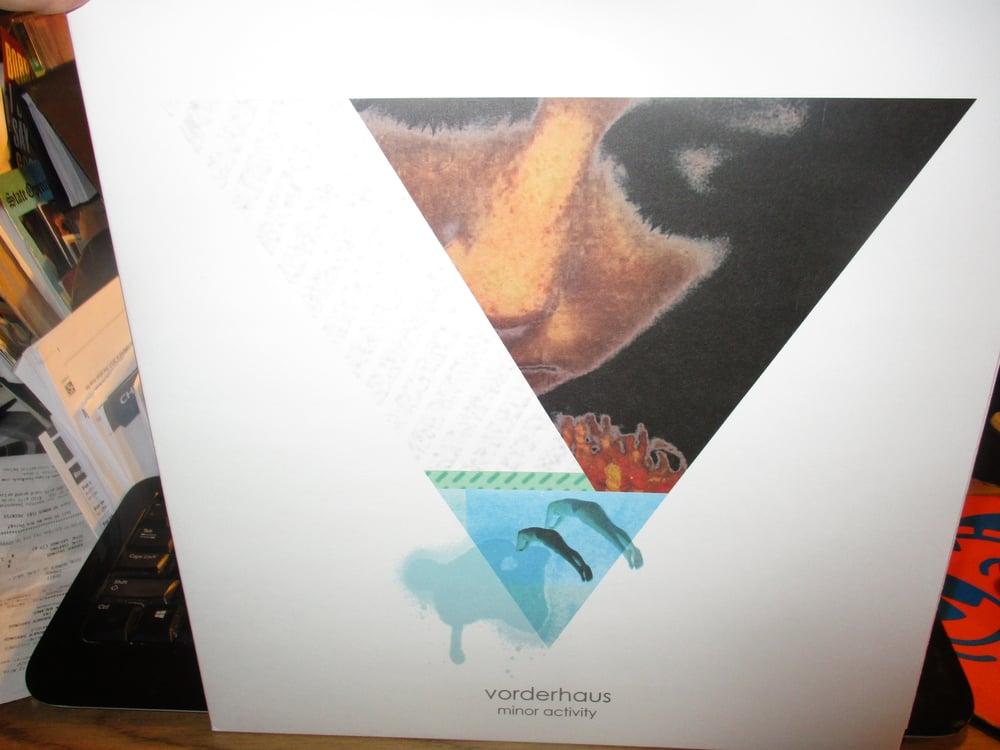 Image of VORDERHAUS Minor Activity UK LP Minimal Synth Dark Depeche Mode
