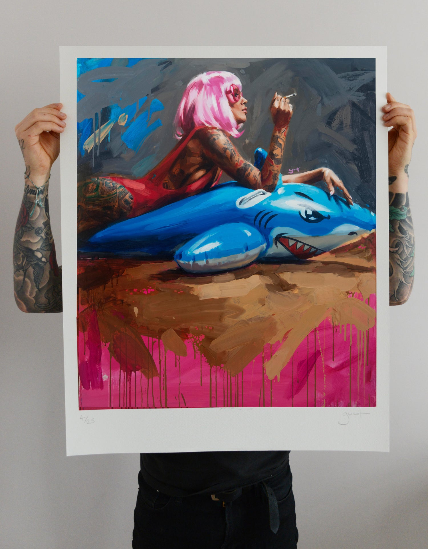 Image of Extremely Limited ARTIST PROOF 'SHARK II' Giclee Print