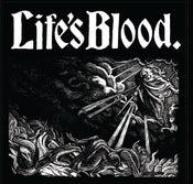 "Image of LIFE'S BLOOD ""HARDCORE A.D. 1988"" LP"