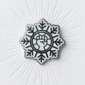 Image of Liberal Snowflake Pin