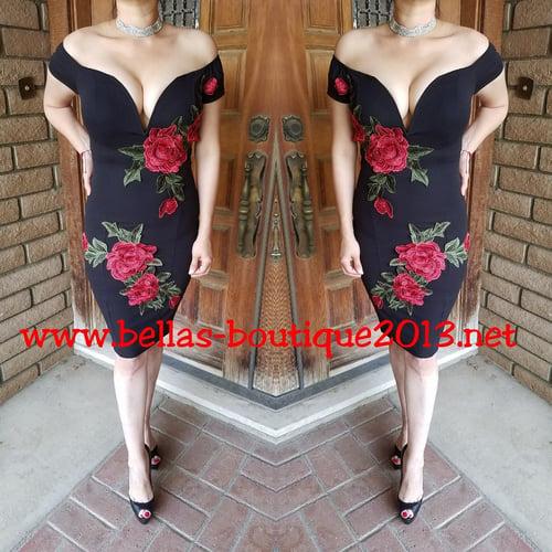 Image of Sexy Rose Dress