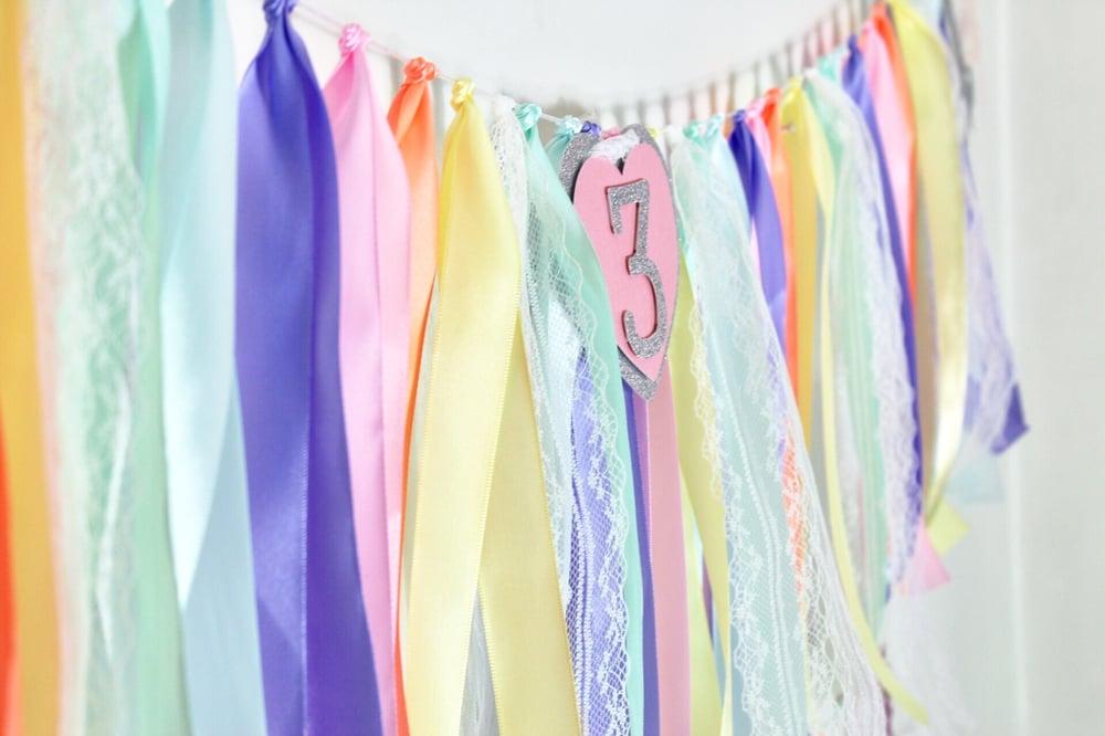 Image of Ribbon garlands