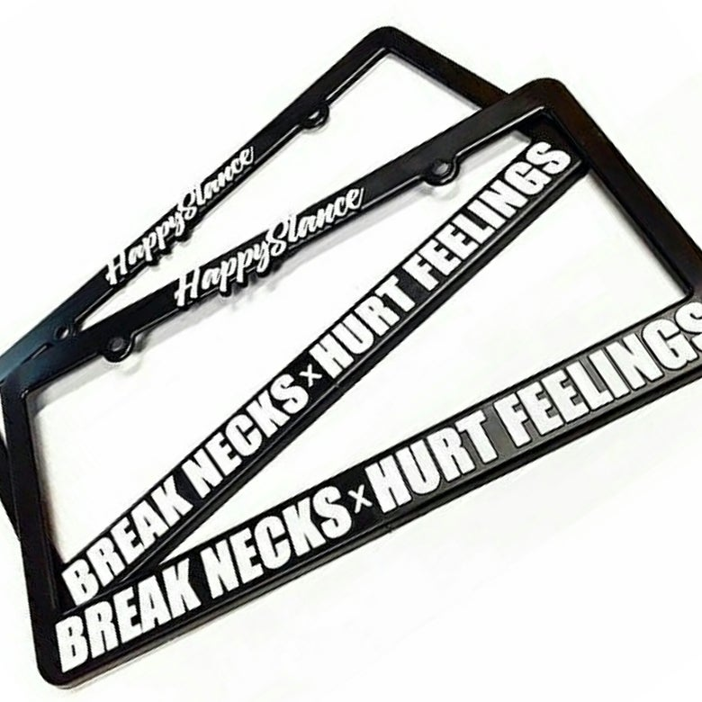 "Image of ""BREAK NECKS x HURT FEELINGS PLATE FRAMES"