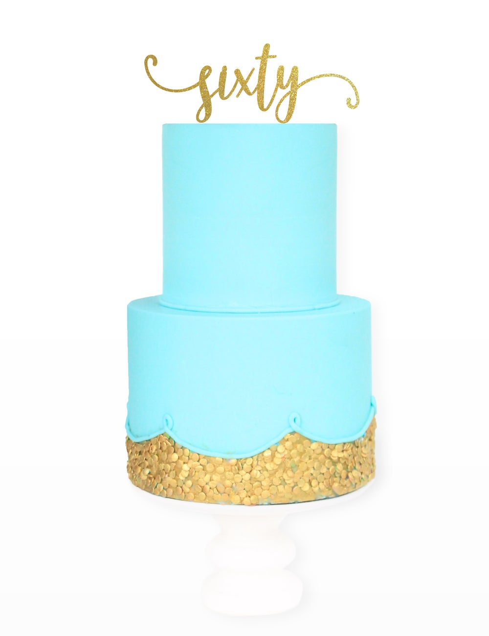 Image of Swash Age Cake Topper