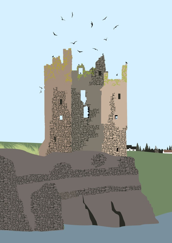 Image of Castle Giclee Print