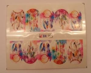 Image of Dream Catcher Water Decals (5 designs)