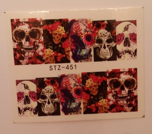 Image of Owl 1 design (SALE) or Floral Skulls (4 designs)