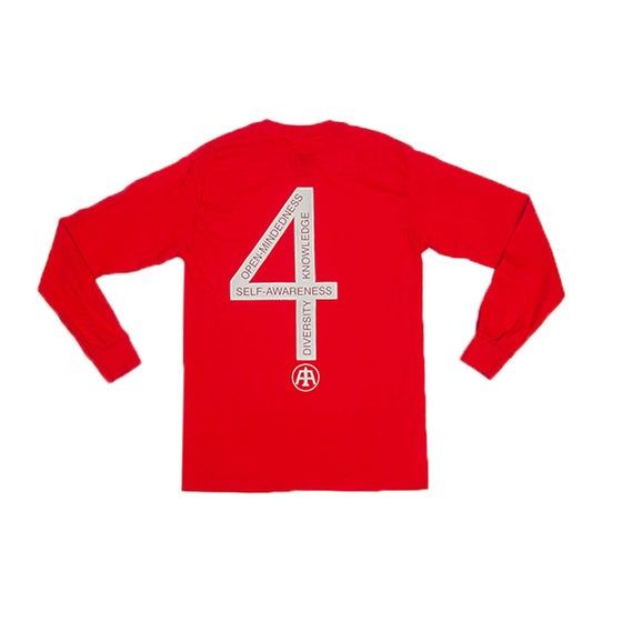 Image of Red Definition L/S Tee