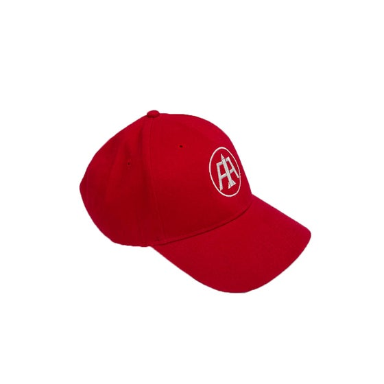 Image of Red Logo Dad Hat