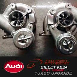 Image of SRM - AUDI/PORSCHE Billet Full Frame K24+ Turbos