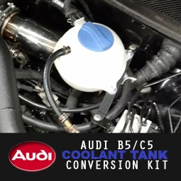 "Image of PROJECTB5 - AUDI B5/C5 ""BUBBLE"" Coolant Tank Conversion"