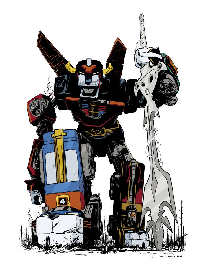 Image of VOLTRON Print