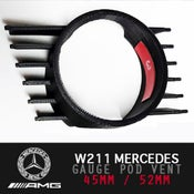 Image of PB5 - W211 Drivers Vent Gauge Pod