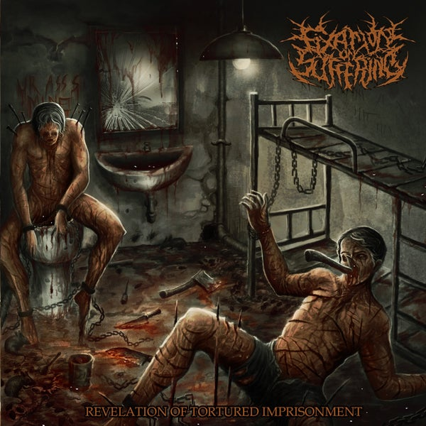 Image of FIXATION ON SUFFERING - Revelation Of Tortured Imprisonment CD