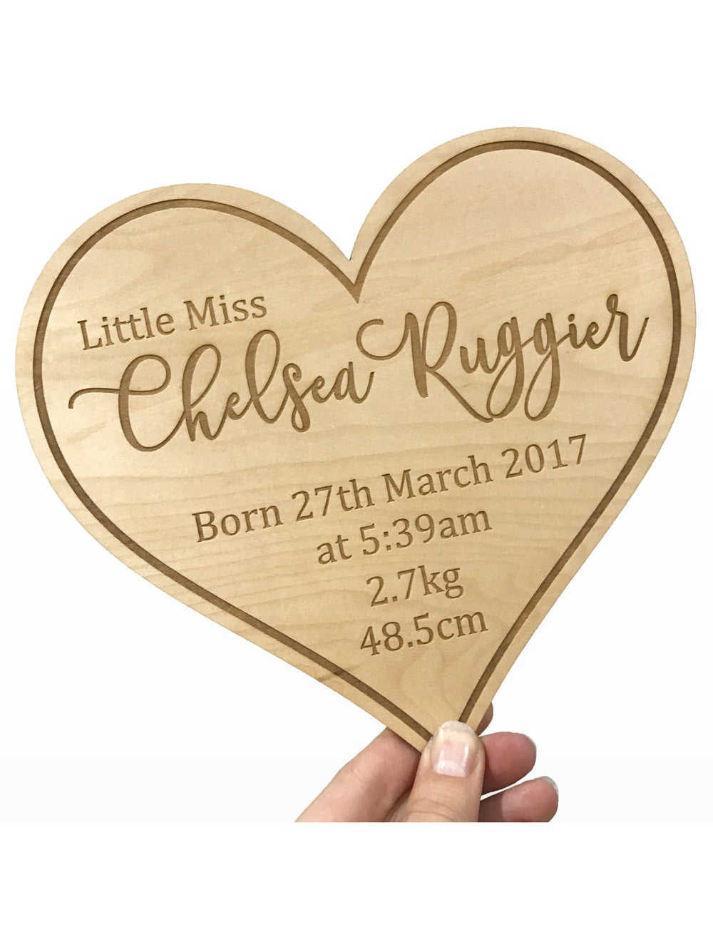 Image of Birth Announcement Plaque