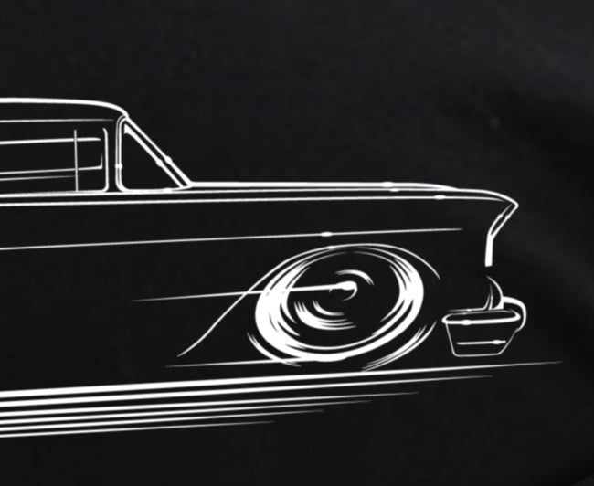 Image of '57 Chevy T-Shirts Hoodies Banners