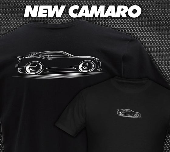 Image of New Camaro T-Shirts Hoodies Banners