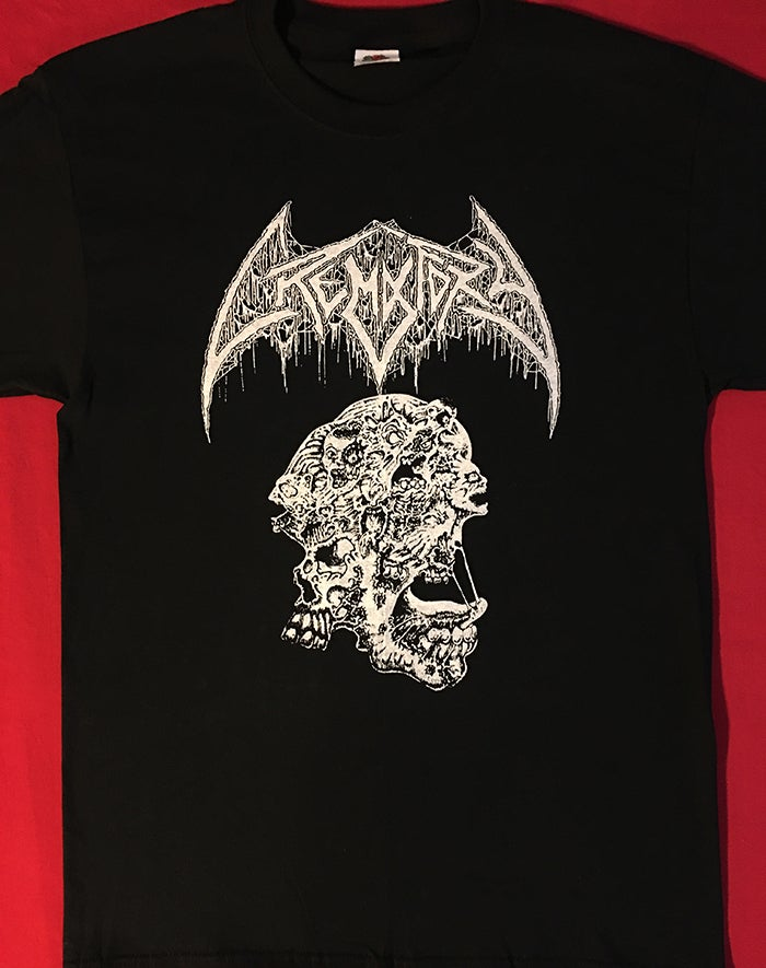 "Image of Crematory "" Requiem Of The Dead "" T shirt"