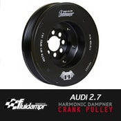 Image of FLUIDAMPR - AUDI 2.7 Performance Damper Crank Pulley