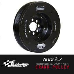 Image of FLUIDAMPR - AUDI 2.7 Performance Damper Crank Pulley