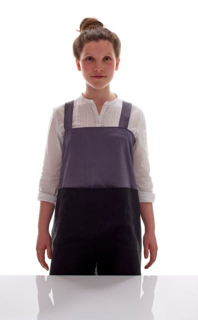 Image of 100% Linen Japanese Pinafore
