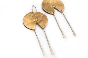 Image of pendulum earring