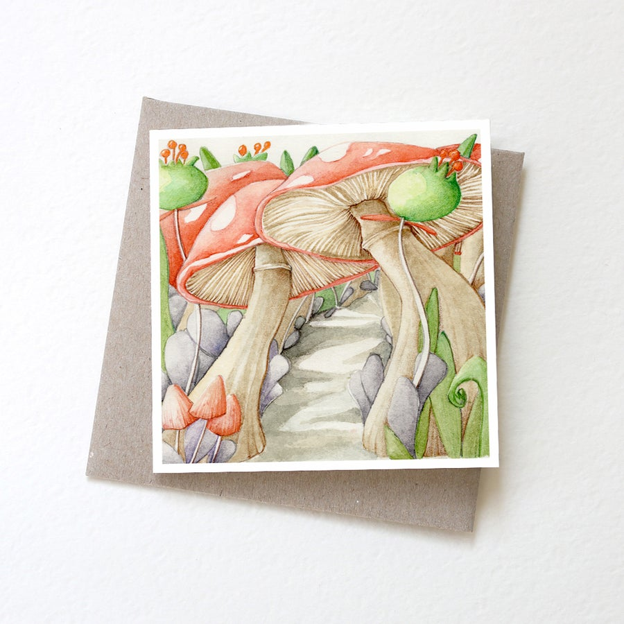 Image of Toadstool Forest card